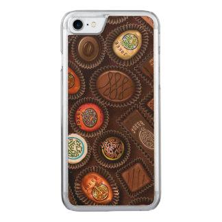Mobilt fodral med chokladMahjong godisar