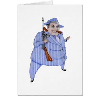 Mobsterchefkort Hälsningskort
