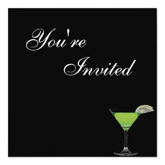 Mocktail födelsedagsfest inbjudan