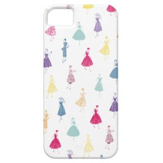 Mode för mönster för klänning för 50-tal för iPhone 5 Case-Mate fodraler