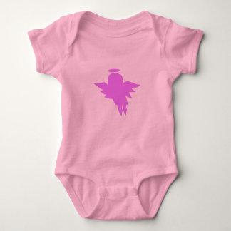 mode för rosavinkelbebis t-shirts