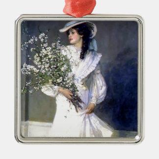 Mode för Victorianbrudbröllop Julgransprydnad Metall