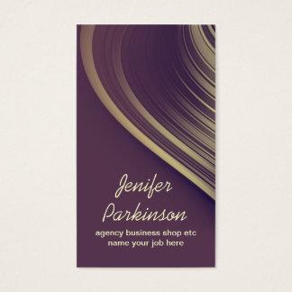 Mode och stil för purpurfärgad vintage för plommon visitkort