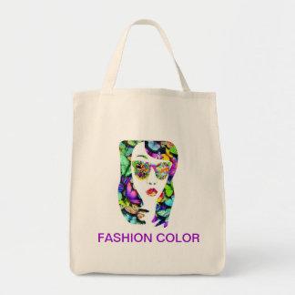 Modefärg Mat Tygkasse