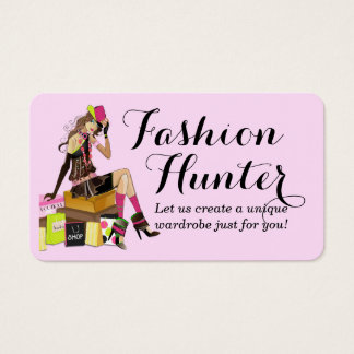 Modejägarevisitkort Visitkort