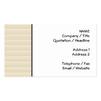 Modell för rand för beigesolbrännafärg set av standard visitkort