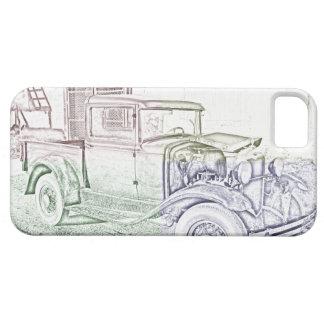 Modellera en lastbil iPhone 5 Case-Mate fodral