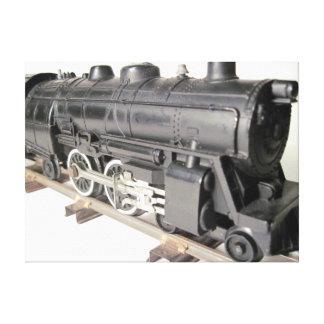 Modellera tågkanfas canvastryck