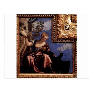 Moderation av Paolo Veronese Vykort