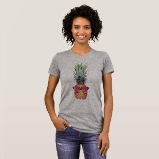 Moderiktig ananas tee shirt