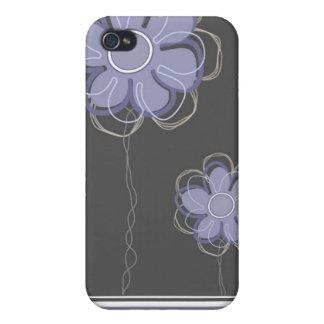 Moderiktig blom- dekor iPhone 4 fodraler