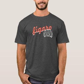 Moderiktig Monoline för textFigaro bil T-tröja T-shirts