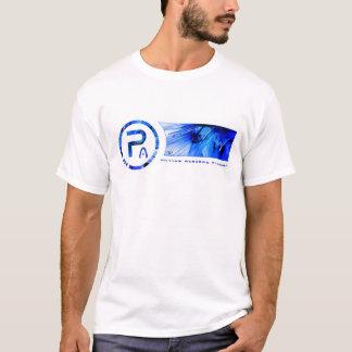Moderiktig Phillips akademimörk - blått T Tee Shirts