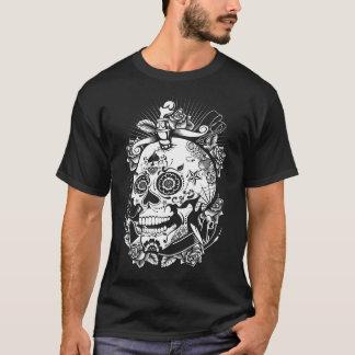 Moderiktig skalleroligtskjorta tee shirts