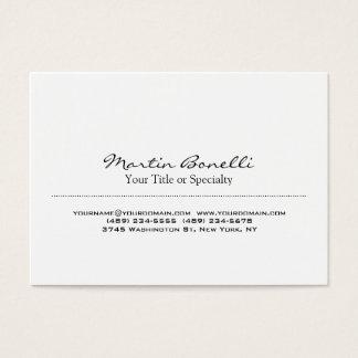 Moderiktig speciell unik professionell visitkort