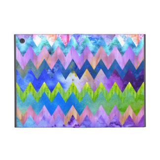 Moderiktigt Artsy mönster för vattenfärgmålningspa iPad Mini Fodral