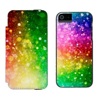 Moderiktigt färgrikt Bokeh glitter & Sparkles