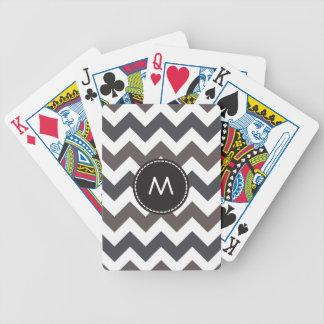 Moderiktigt sparresicksackmönster 9 spelkort