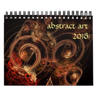 Modern abstrakt konst 2018 kalender
