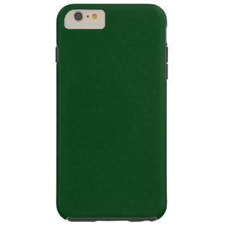 Modern anpassadeskoggrönt, tough iPhone 6 plus fodral