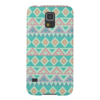 Modern Aztec design Galaxy S5 Fodral