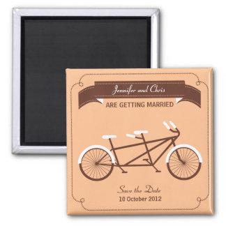 Modern beige spara för tandem cykel datera