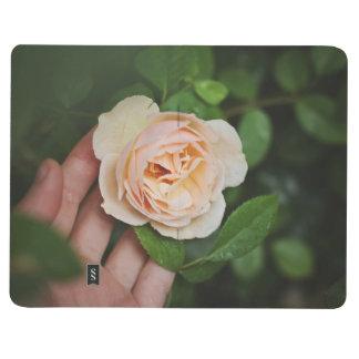 modern blom- journal för vanabogserarekula