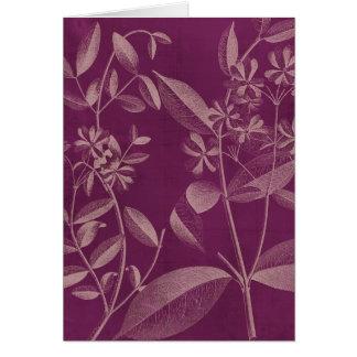 Modern botanik III Hälsningskort