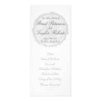 Modern & chic trädskiva som gifta sig Rackcard Rack Kort Designs