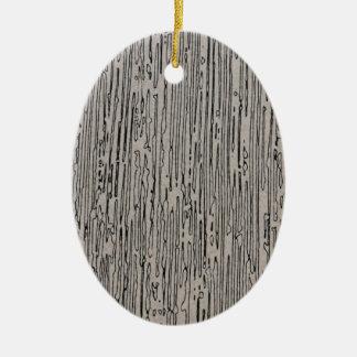 Modern design för metallstatisk elektricitetstil i julgransprydnad keramik