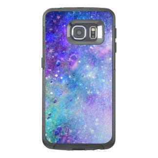 Modern design GR4 för färgrikt djupt utrymme OtterBox Samsung Galaxy S6 Edge Skal