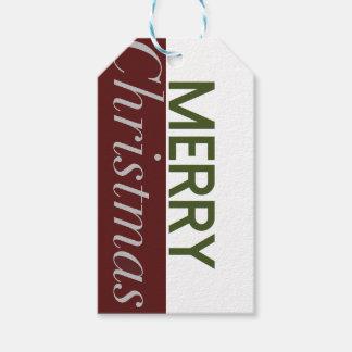Modern & djärv god julhelgdaggåva presentetikett