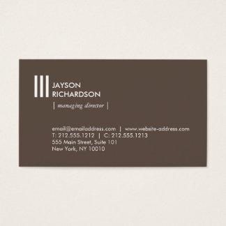 Modern enkel arkitektur, konstruktion, design 2 visitkort