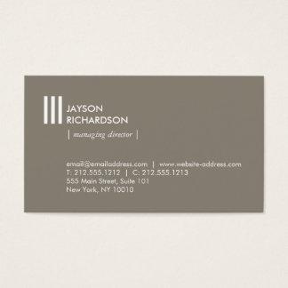 Modern enkel arkitektur, konstruktion, design 3 visitkort
