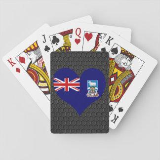 Modern Falkan flagga Casinokort