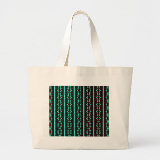 Modern görat randig mönster för neon kricka jumbo tygkasse