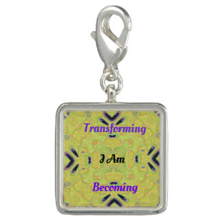 Modern gul Artsy självmedvetenhet Transformatio Charm