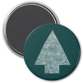 Modern julgranmagnet magnet