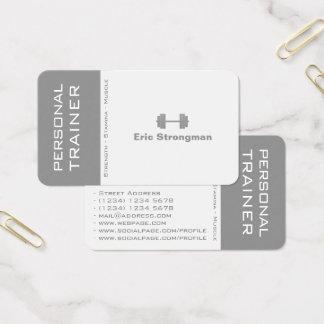 Modern kluven kontrast täcker visitkort