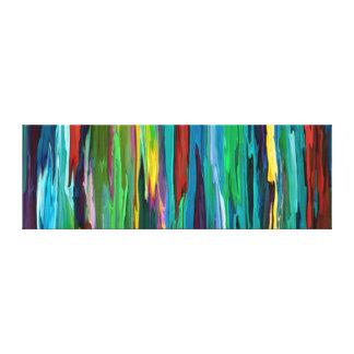 Modern konst för coola för Stripesa ~ slågen in Canvastryck