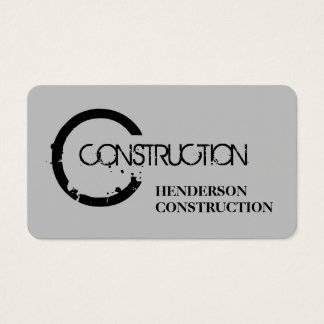 Modern konstruktionsdesign visitkort