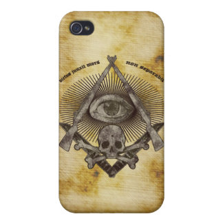 Modern ledar- iphone case för Mason M1 Garand & Ka iPhone 4 Cover