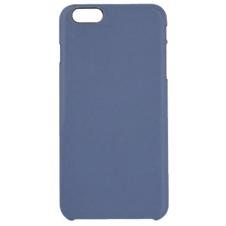 Modern marinblå anpassaderoyal clear iPhone 6 plus skal