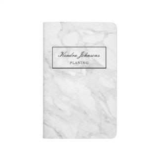 Modern marmor anteckningsbok