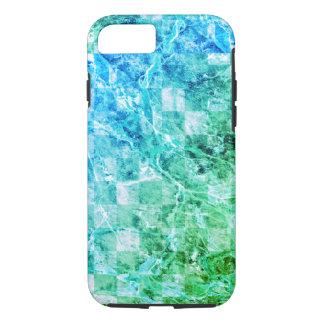 Modern marmor för ljus havsblåttgrönt
