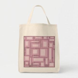 Modern Mauveabstrakt Tote Bag