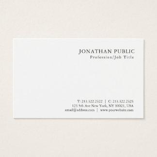 Modern Minimalistic yrkesmässig flott design Visitkort