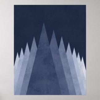 Modern minsta geometrisk konst för purpurfärgade poster
