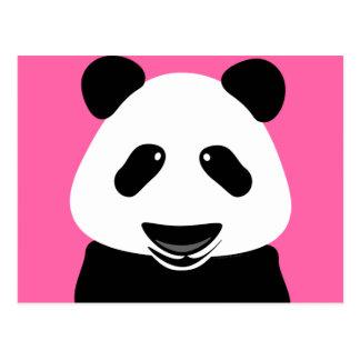 Modern Pandabjörn Vykort