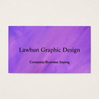 Modern purpurfärgad bakgrund med malltext visitkort